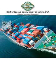 Top shipping containers for sale in USA